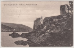 Dartmouth Castle And Petrox Church 1908 - England