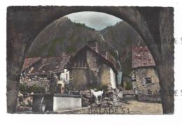 CPA - VALSENESTRE (38) En Valjouffrey (chèvre) - Autres Communes