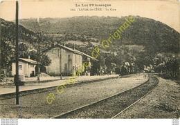 46.  LAVAL De CERE .  La Gare . LOT PITTORESQUE . - Frankrijk
