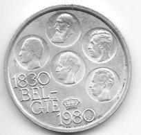 Belguim 500 Francs 1980 Dutch Silver Clad Copper-Nickel    KM162 - 1951-1993: Baudouin I
