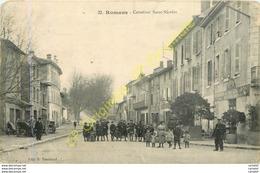 26.  ROMANS .  Carrefour Saint-Nicolas .  CPA Animée . - Romans Sur Isere