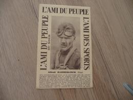 CPA Thème Cyclisme L'ami Du Peuple L'Ami Du Sport Cycliste Alfred Hammerlinck Belgique - Ciclismo