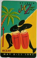 147CSLE EC$20 Jazzfest  With Slash - St. Lucia