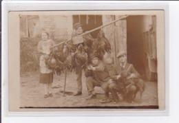 SANDILLON : Carte Photo D'un Retour De Chasse  (chien Chasse) - Très Bon état - Autres Communes