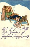 Künstlerkarte Seiler - Donne