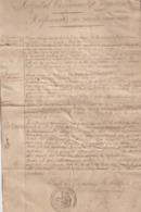 Arch. L.B (9) : Guerre De 14-18, Hôpital Temporaire De Vizzavona Corse, Règlement 1914. Rare - Historische Documenten