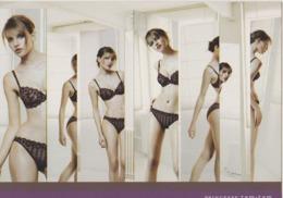 Carte Publicitaire Lingerie PRINCESSE TAM TAM - Fine Nudes (adults < 1960)