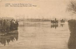 CPA - Belgique - Lier - Lierre - La Route De Berlaer Sous L'eau - Lier