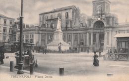 Cartolina- Postcard /  Viaggiata - Sent /  Napoli, Piazza Dante - Napoli (Naples)