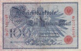 Reichsbanknote, 100 Mark - 100 Mark