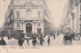 Cartolina- Postcard /  Viaggiata - Sent /  Napoli, Piazza Sette Settembre. - Napoli (Naples)