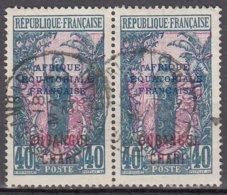 Oubangui Chari 54 ° En Paire - Ubangi (1915-1936)