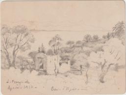 Arch. L.B (12) : Guerre De 14-18 La Baie D'Ajaccio L.Busquet  1914 - Historische Documenten