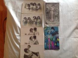 Lot 7 Cartes Romance, KNI - Autres