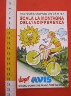 CA6 AVIS A.V.I.S. DONO SANGUE VALSESIA VERCELLI SOLE CICLISTA MONTAGNA PANTANI CICLISMO BICICLETTA - Cartoline