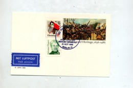 Carte  Postale 14 Bataille + Thayer Cachet Expo Berlin - Postal Stationery