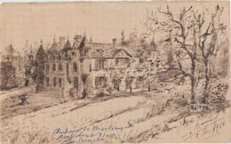 Arch. L.B (18) : Guerre De 14-18 Château De Merlemont Ambulance 7/XV L. Busquet 2 Déc.1916 - Documents Historiques