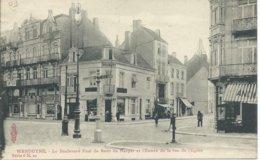 Wenduine/Wendyne,Le Boulevard Paul De Smet De Nayer Et L'entrée De La Rue De L'eglise 1909 - Wenduine