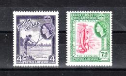 Guyana  British - 1954. Cacciatore E Pescatore. Hunter And Fisherman. Very Fresh, MNH - Alimentación