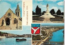 CONFLANS SAINTE HONORINE - Vues - Péniche - Conflans Saint Honorine