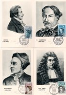 6 Cartes Maximum Personnages Célèbres N° 1345/1350 - Cartoline Maximum