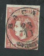 Roumanie.prince  Charles Oblitération Bacau - 1858-1880 Moldavië & Prinsdom