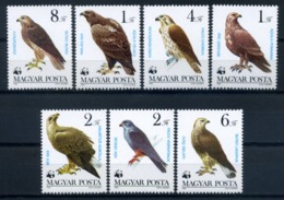 Hungary 1983 Hungria / Birds Eagles WWF MNH Vögel Aves Oiseaux / C8009   2-4 - Pájaros