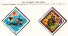 YEAR INTERN. OF CHILD - WALLIS E FUTUNA - Mi. Nr. 337/338 - NH - (6532-31.) - Wallis E Futuna