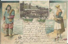 Oostende,litho 1897 - Oostende