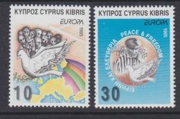 Europa Cept 1995 Cyprus 2v ** Mnh ROCK BOTTOM PRICE (44911) - Europa-CEPT