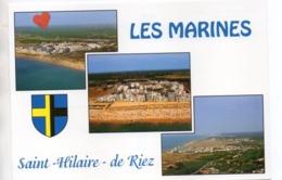 26700-LE-85-LES MARINES-Saint-Hilaire-de Riez-------------------multivues - Saint Hilaire De Riez