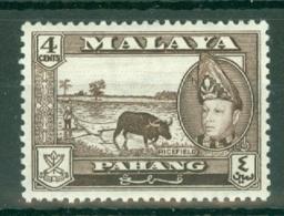 Malaya - Pahang: 1957/62   Sultan Abu Bakar - Pictorial    SG77      4c      MH - Pahang