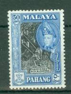 Malaya - Pahang: 1957/62   Sultan Abu Bakar - Pictorial    SG83      50c   [Perf: 12½]  MH - Pahang