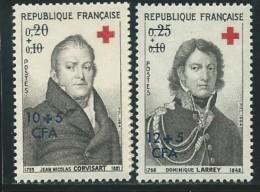 REUNION CFA: **, N° YT 362 Et 363, TB - Reunion Island (1852-1975)