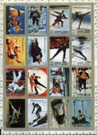Blocs 16 Timbres Oblitérés (sport) - Adschman