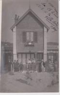 CARTE PHOTO VILLA BELIE . 1913 - Francia