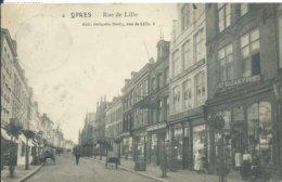 Ieper/Ypres,Rue De Lille 1911 - Ieper