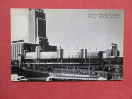 General Motors Building  Chicago 1933 Worlds Fair   Ref 3662 - Postcards