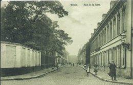 Menen/Menin,Rue De La Gare 1911 - Menen