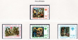 YEAR INTERN. OF CHILD - FILIPPINE - Mi. Nr. 1315/1318 - NH - (6532-32.) - Cecoslovacchia
