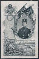 BELGIQUE - RAYMOND DEPOUHON PREMIER SERGENT-MAJOR 12 Eme DE LIGNE - MORT AU CHAMP D'HONNEUR A LONDERZEE LE 29 SEP 1914 - Avvisi Di Necrologio