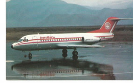 CP AVION FOKKER F 28 1000  AEROPERU OBR-1018  MARS 1984 - 1946-....: Modern Era
