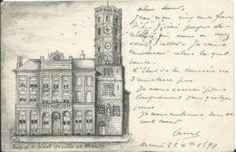 Menen/Menin,Hotel De Ville 1899 - Menen