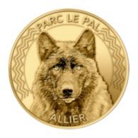Monnaie De Paris , 2019 , Dompierre-sur-Besbre , Parc Le Pal , Le Loup - Monnaie De Paris