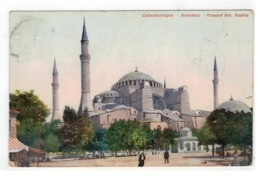 Constantinople - Stamboul - Mosqué Ste. Sophie 1911 - Turquie