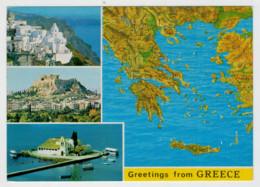 GREETINGS  FROM  GREECE    VIEWS    (NUOVA) - Grecia