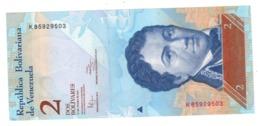 Venezuela 2 Bs. 2012 , UNC. - Venezuela