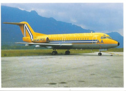 CP AVION FOKKER F28  AIR ALPES F-BUTI  AVIMAGE 171 - 1946-....: Era Moderna