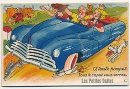 LES PETITES DALLES - N° 16 - CARTE A SYSTEME ( AVEC DEPLIANT ) - Francia