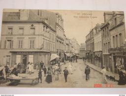 C.P.A.- Fécamp (76) - Rue Alexandre Legros - Pharmacie - Boucherie Emile Devaux - 1910 - TTB (BC57) - Fécamp